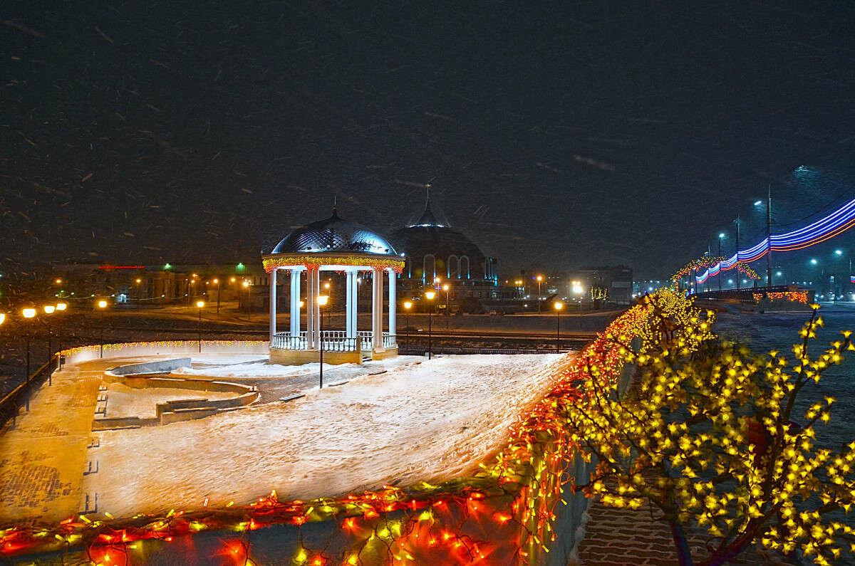 Картинки города тулы зимой