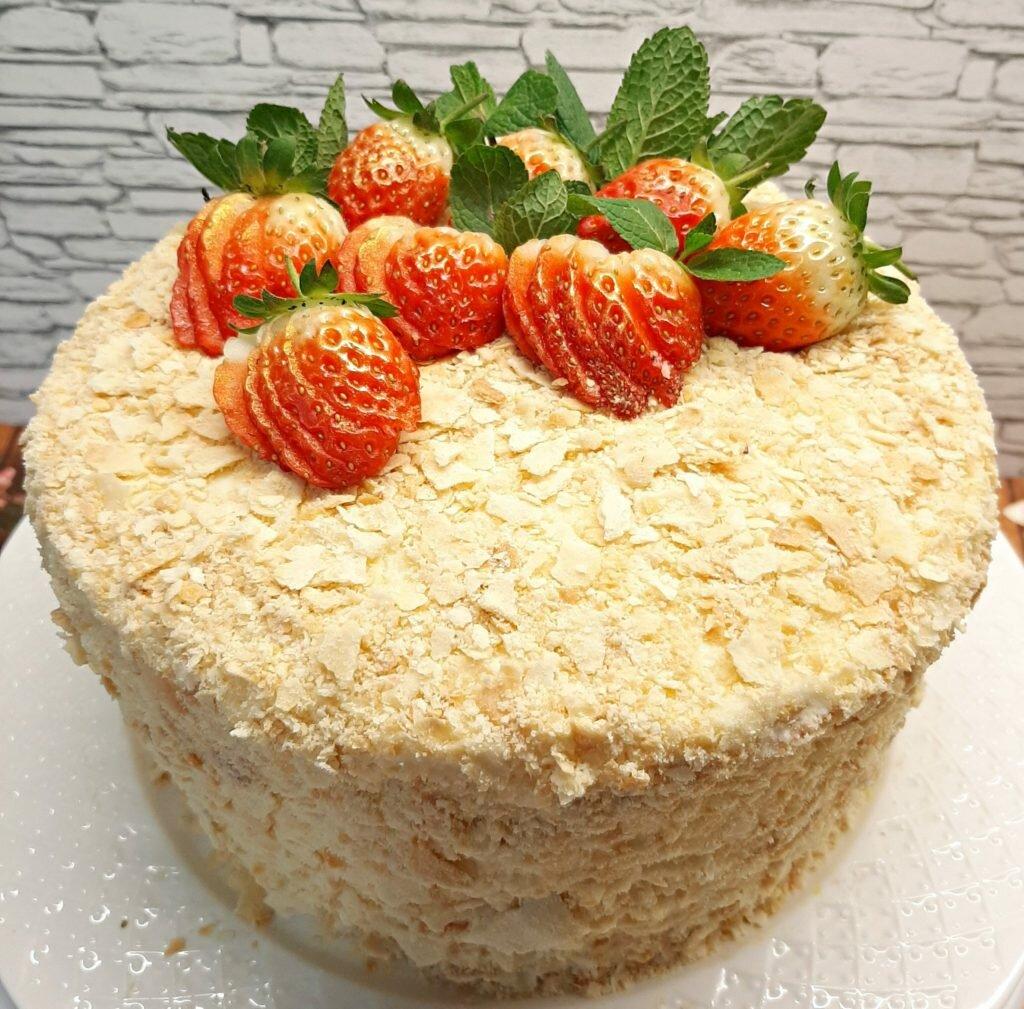 Домашний торт наполеон пошаговый рецепт с фото