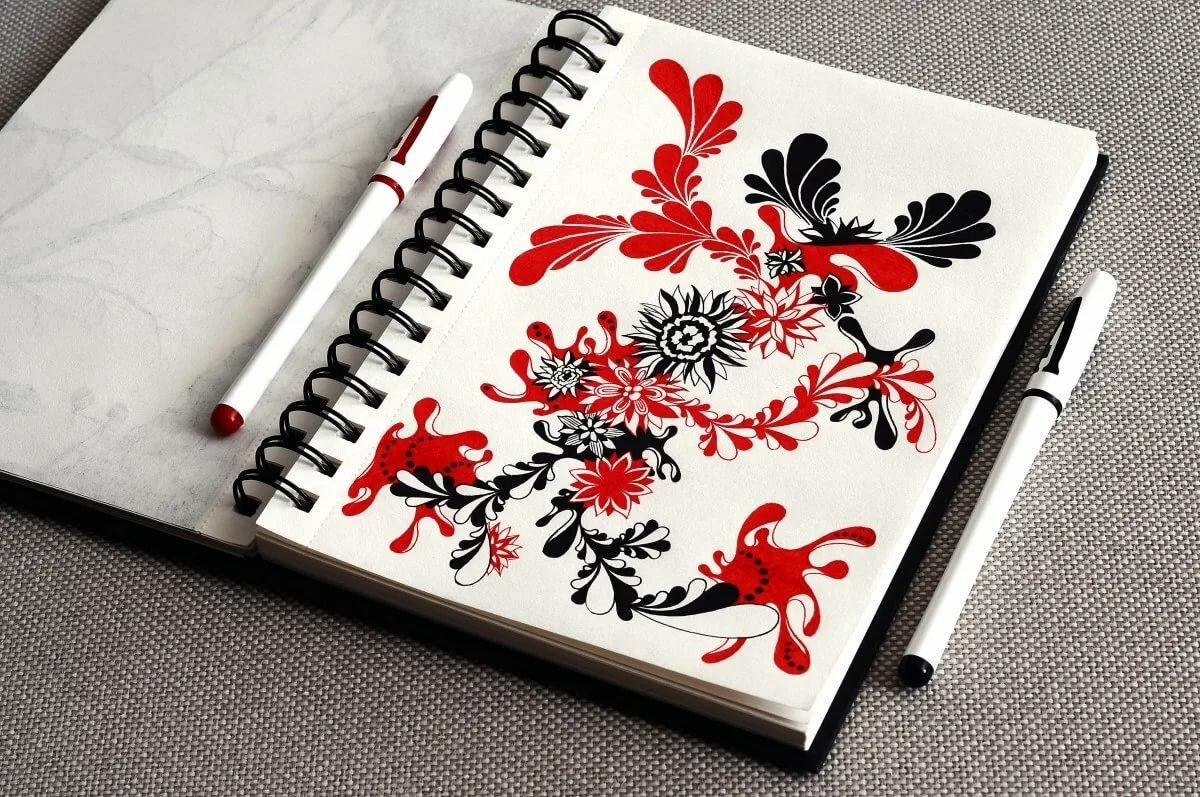 Картинки для рисования в блокнот