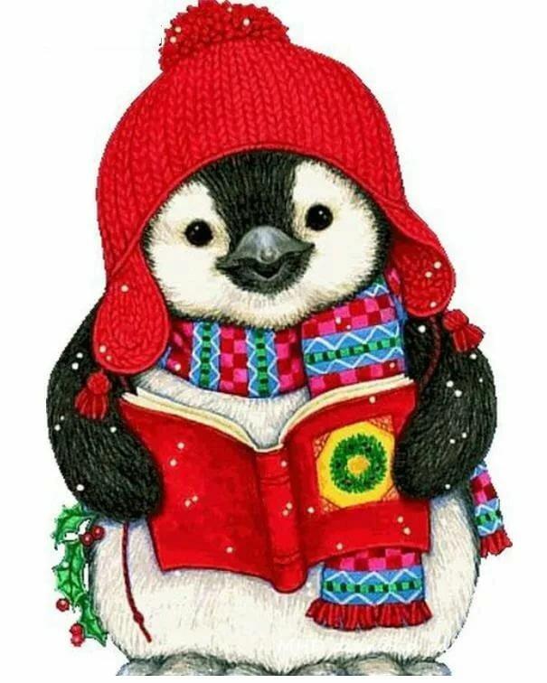 новогодние пингвины картинки делать если нет