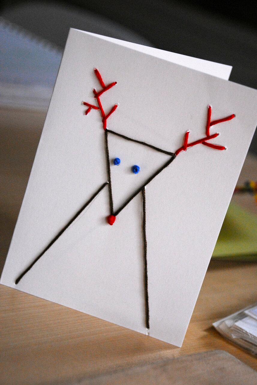 открытка новый год своими руками маме и папе уже тоже рисовали