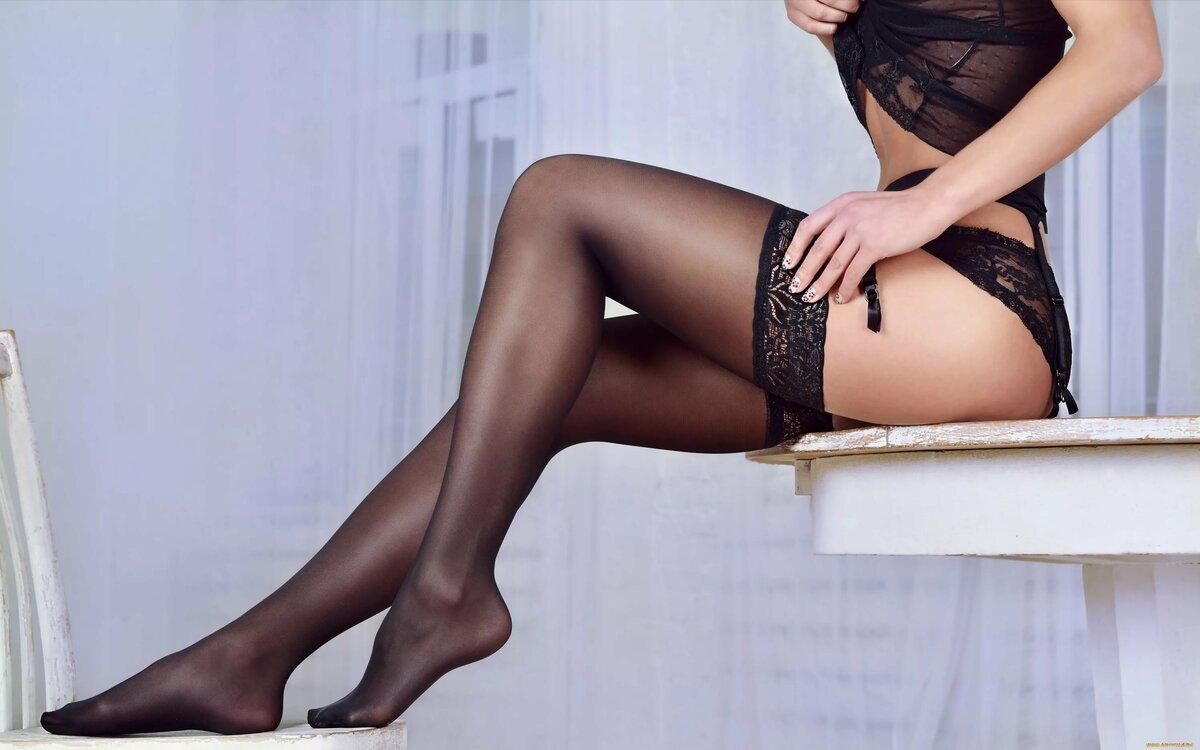 Картинки ноги женские в чулках