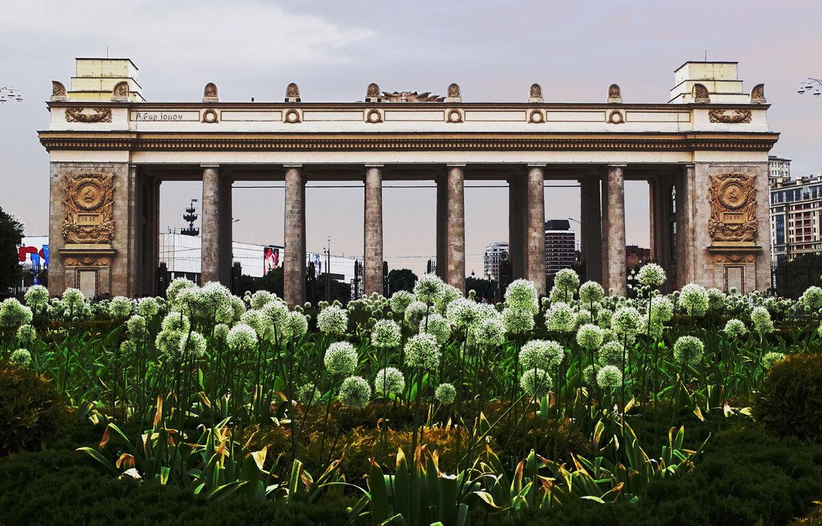 красивые фотообои парка горького в москве фото, что