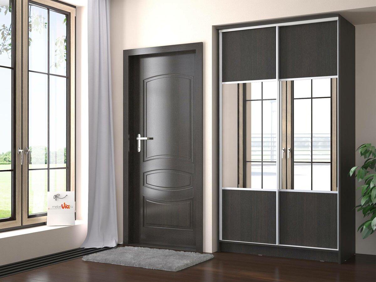 Шкафы купе две двери картинки