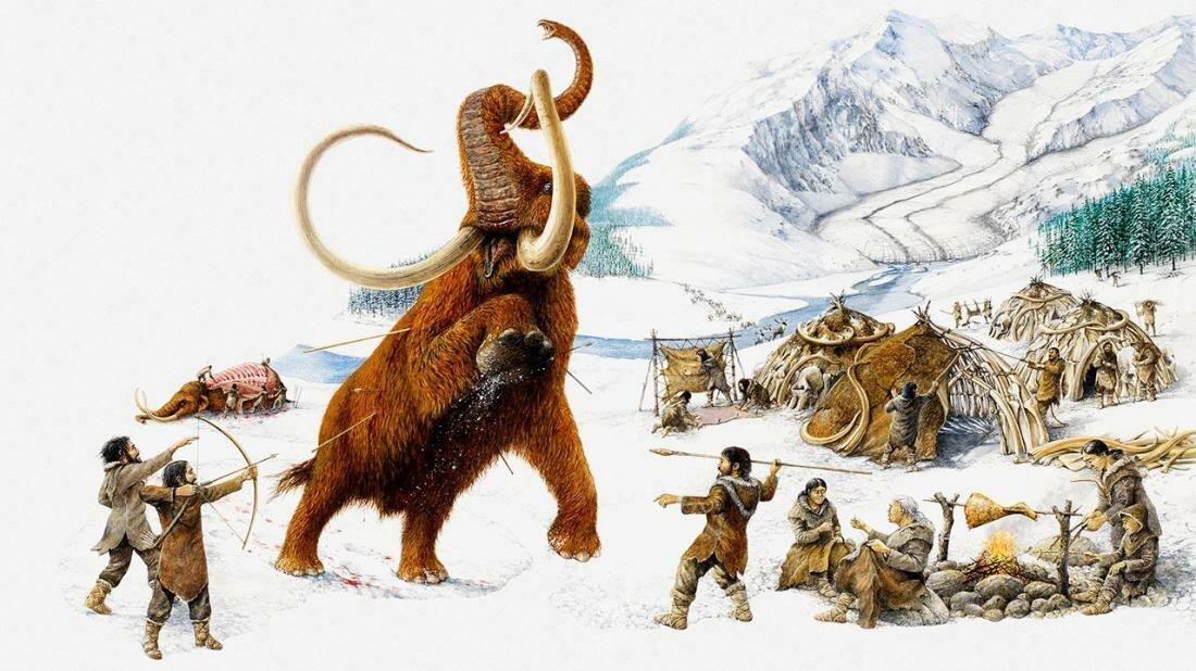 жизнь в ледниковом периоде картинки