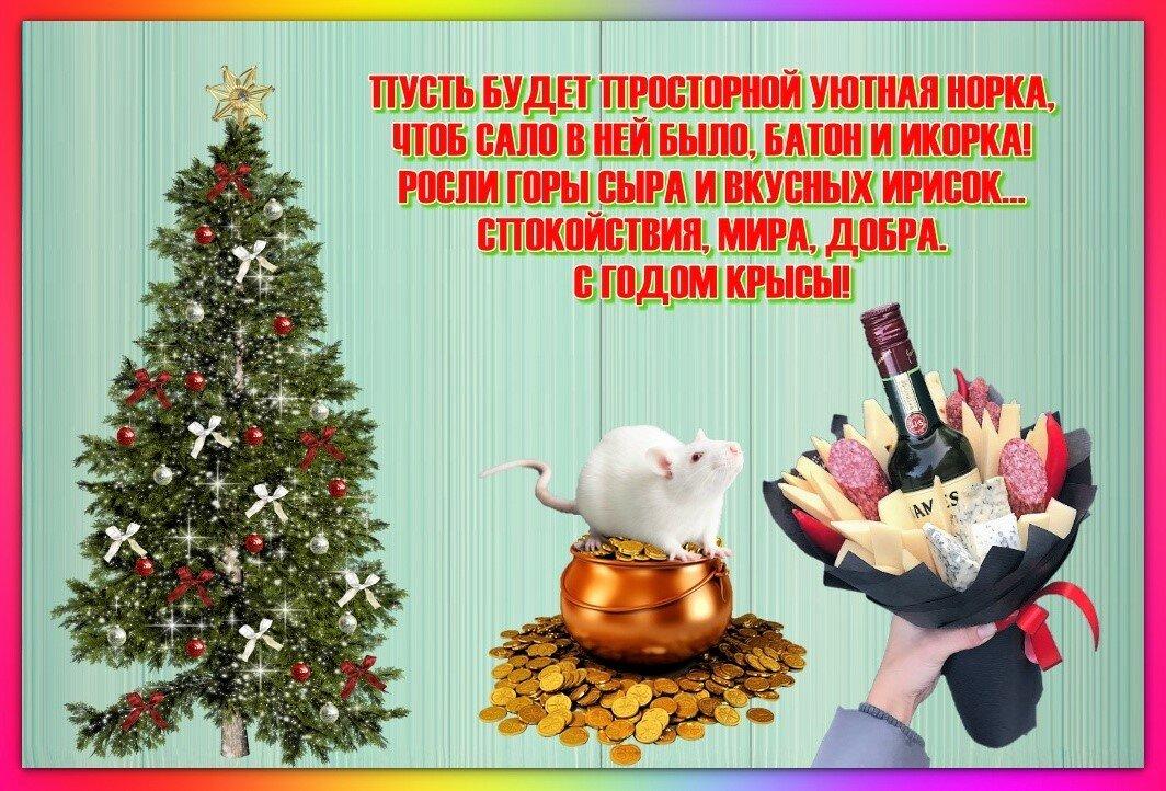 краткие поздравления на новый год крысы нее вошли находки