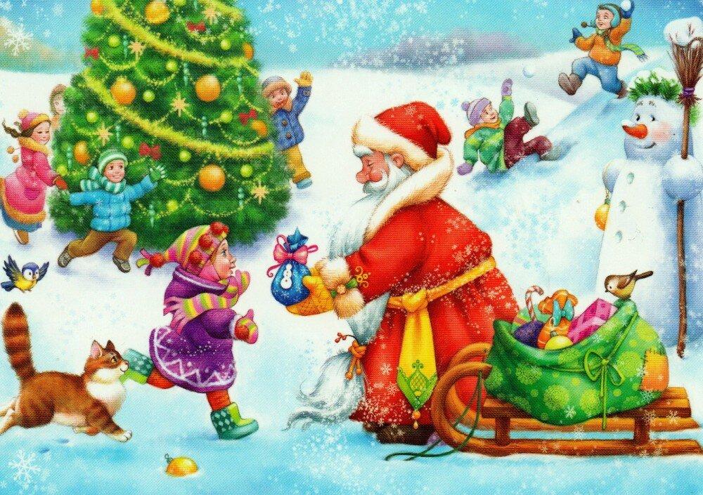 Картинки здравствуй праздник новогодний