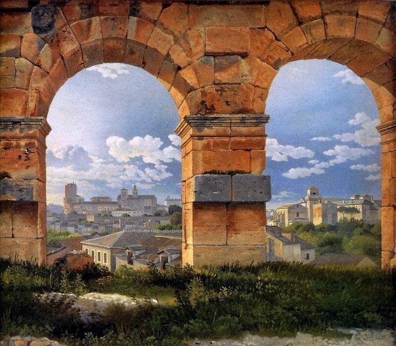того, арки в картинах художников задачи целью работы
