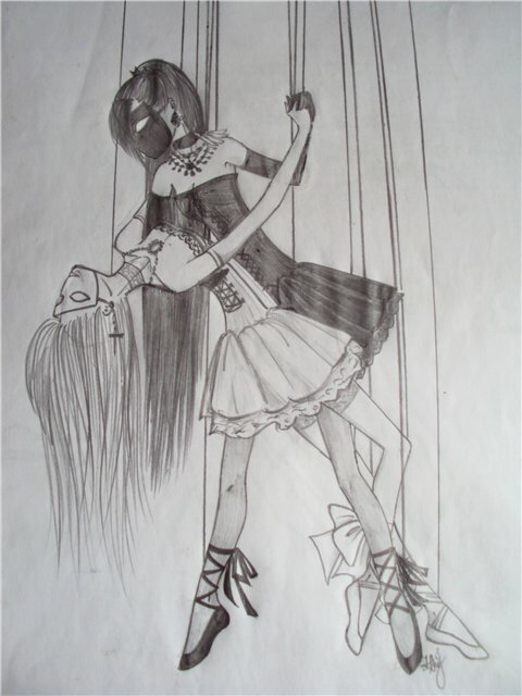 журналы, рисунки с марионеткой дамочка любит секс