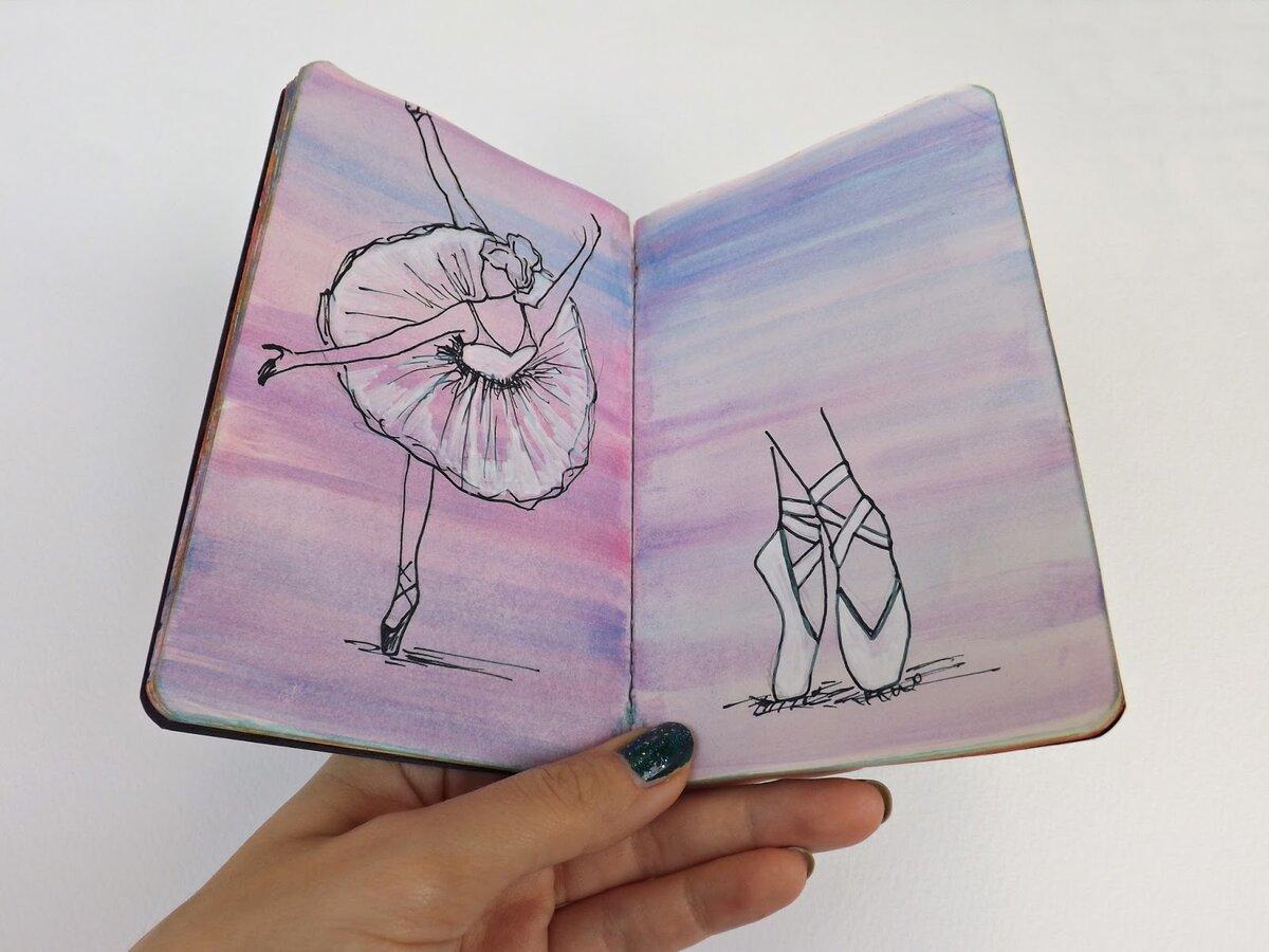 Картинки для срисовки на скетчбук легкие очень просто мило няшно