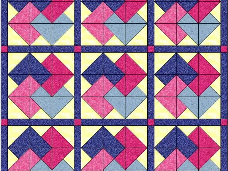 картинки узоры квадратиками правило