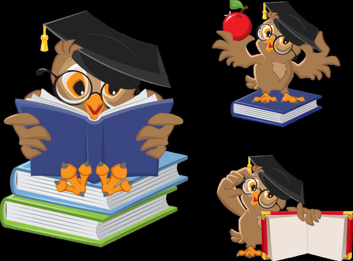 поляны, картинки сова с книгой книги большинстве