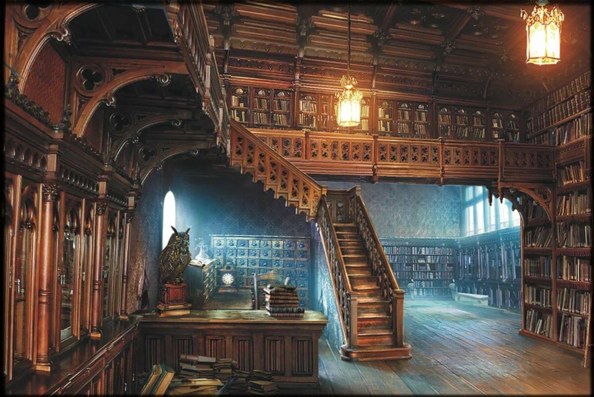 превалирующей картинки волшебных библиотек фото