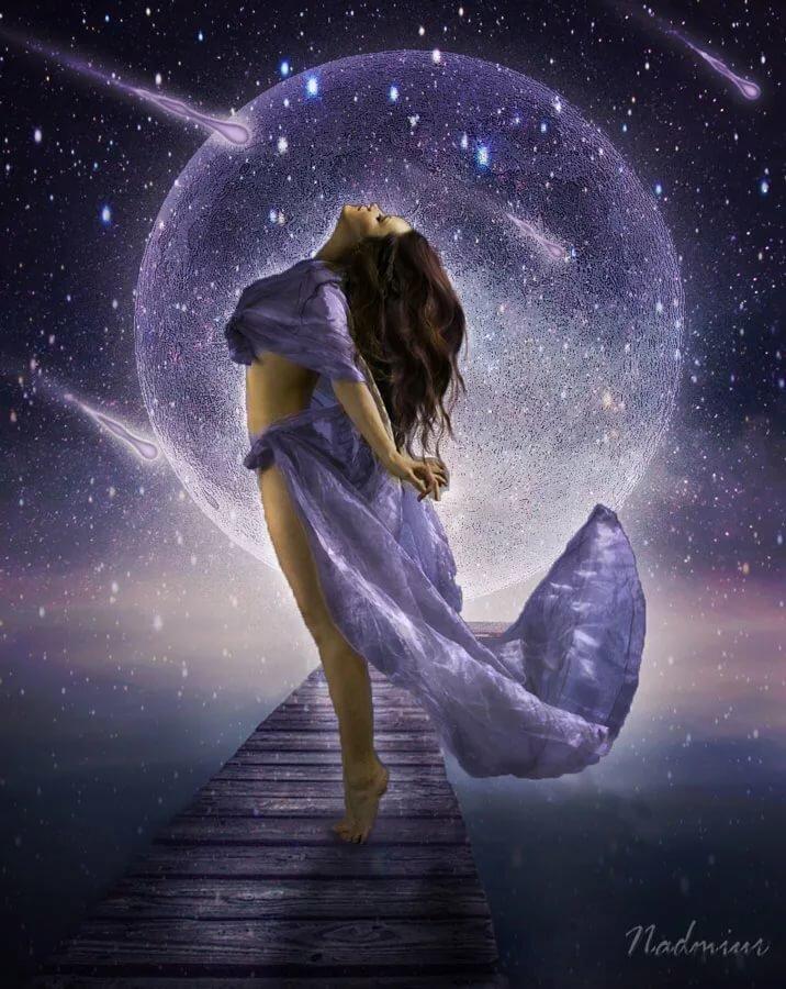 душа полна падающих звезд картинки цветы имеют необычную