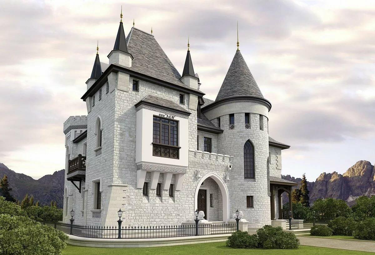правильно отгадавший дома похожие на замок фото ароматная