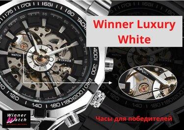 Роскошные мужские механические часы с автоподзаводом в стиле Skeleton