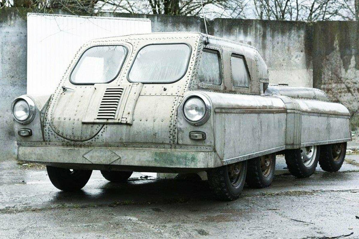 Советский гидровездеход «Арго»