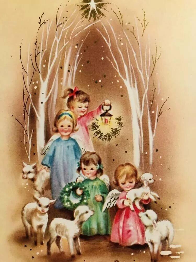 Поздравления с рождеством рисунки