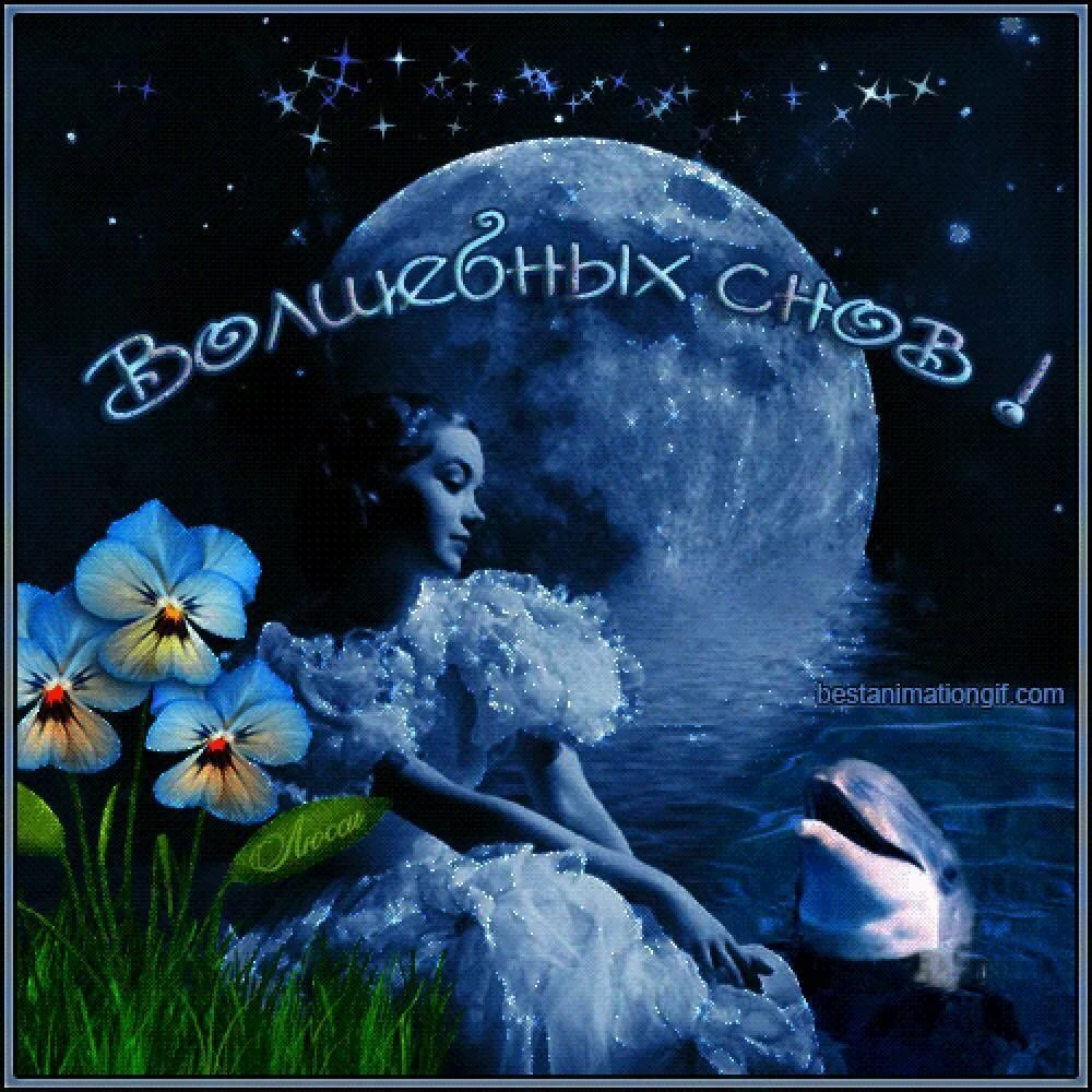 картинка чудесной ночи и сна что при