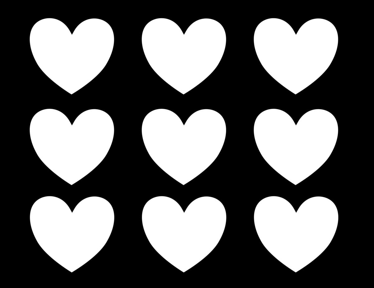 Сердечко картинка раскраска распечатать