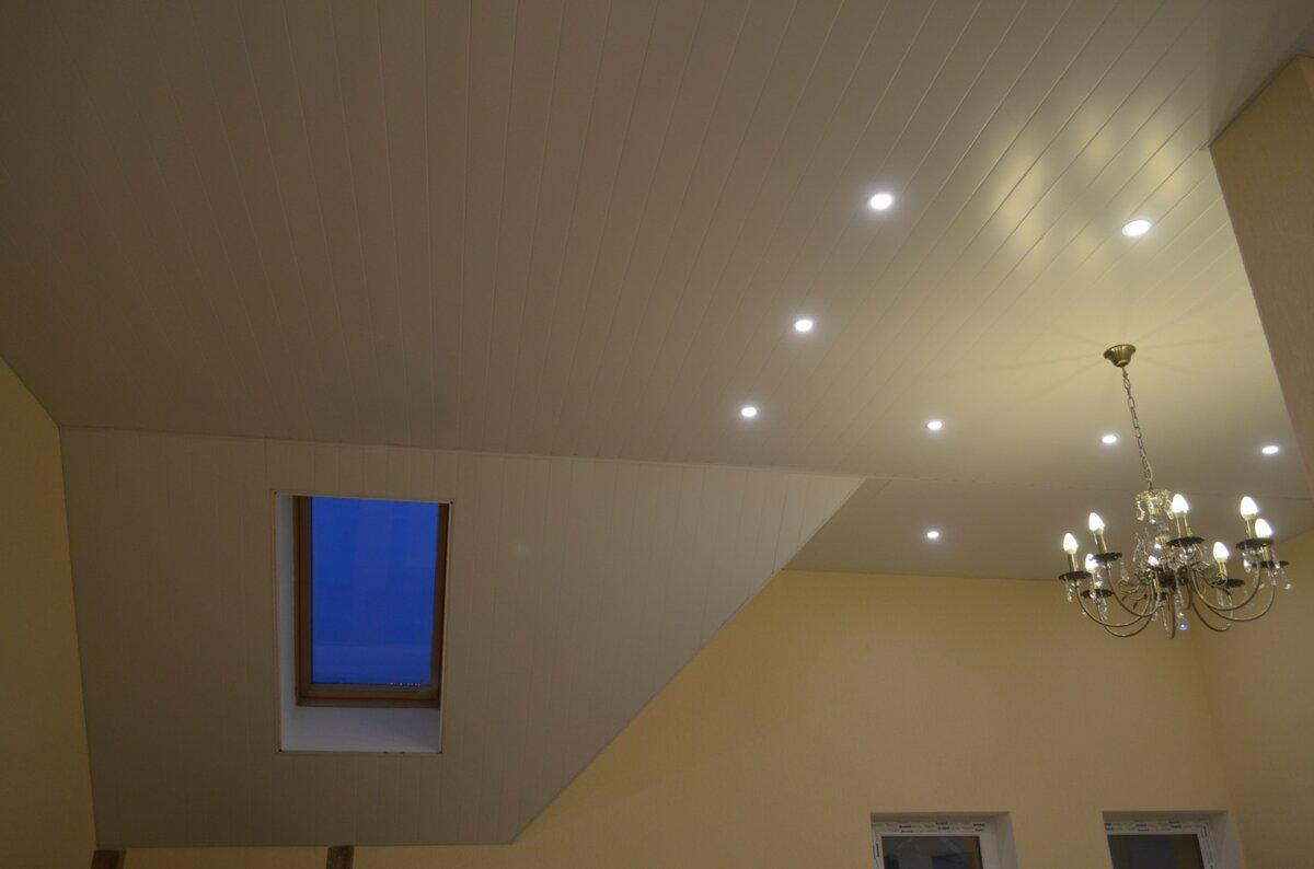 Реечный потолок №34