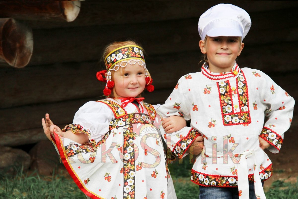 Картинки детский народный костюм