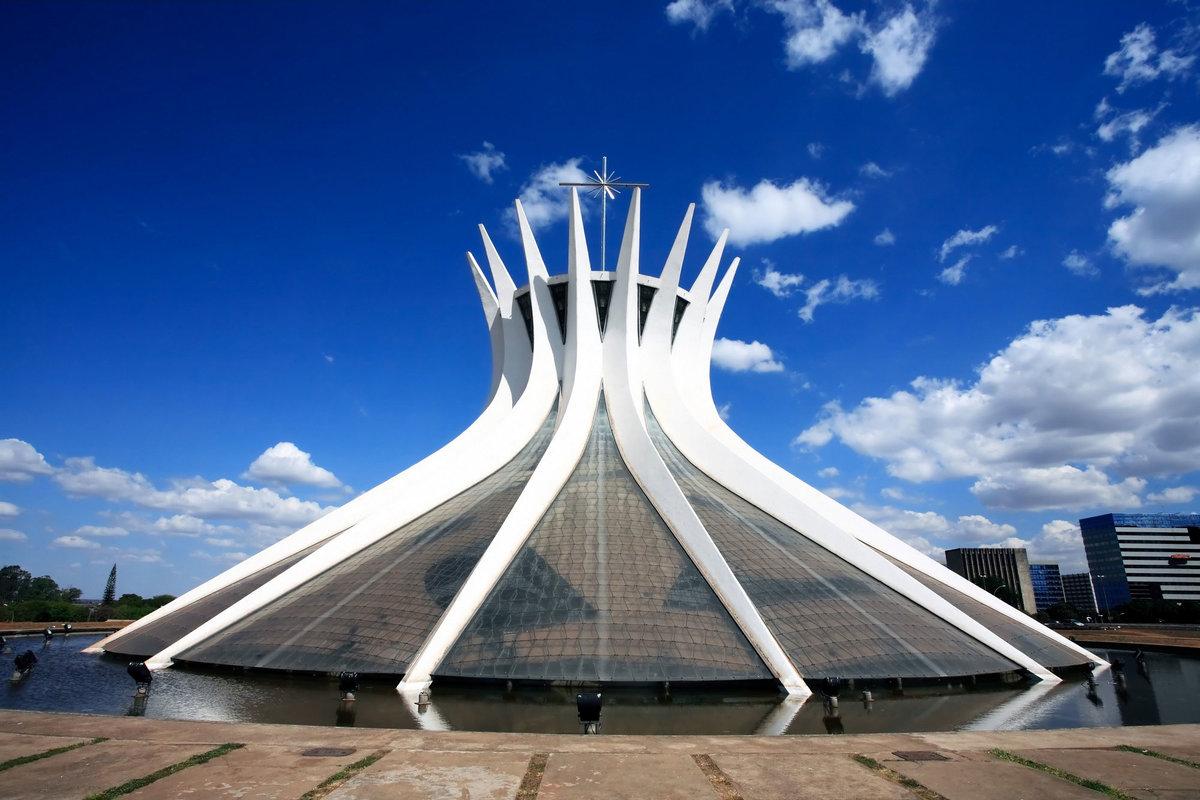 Картинки по запросу Кафедральный собор. Бразилия