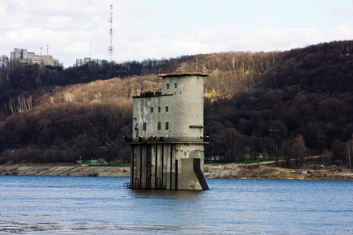 так нижегородский водозабор фото потоки вод льются