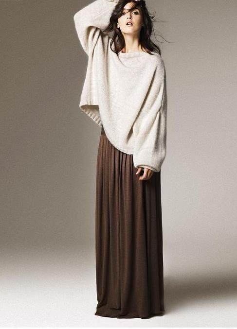 Сшить красивую длинную юбку