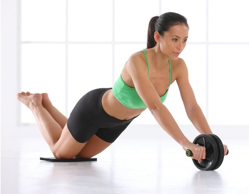 Видеоролик упражнения для похудения