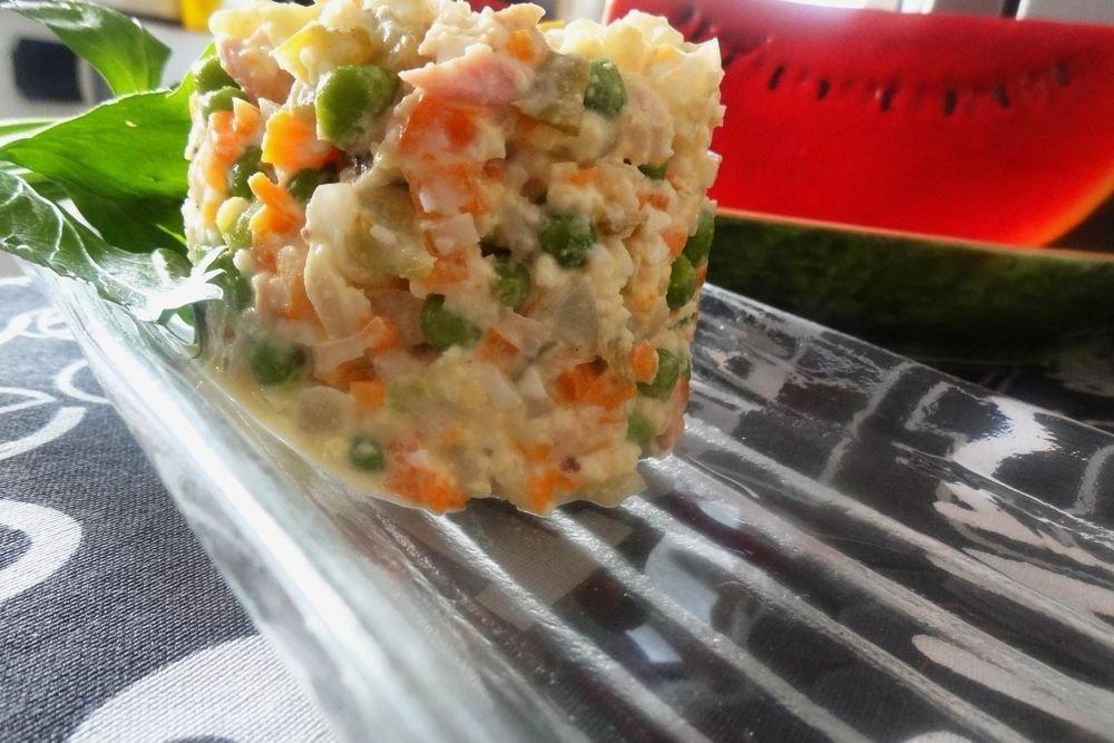 кольраби рецепты салатов с яйцом