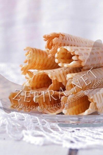 Творожное печенье в вафельнице