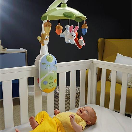 Игрушки на кроватку для новорожденных фото