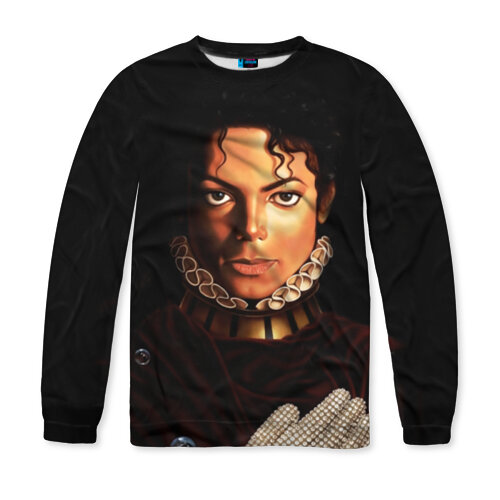 Мужской свитшот 3D Король Майкл Джексон