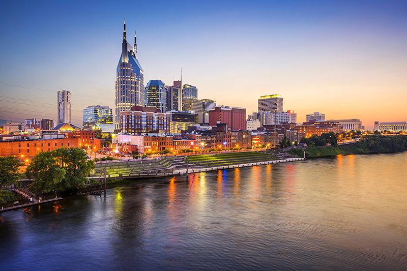 Нашвилл - город на юге США, столица штата Теннесси
