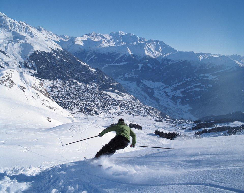 швейцария горные лыжи фото
