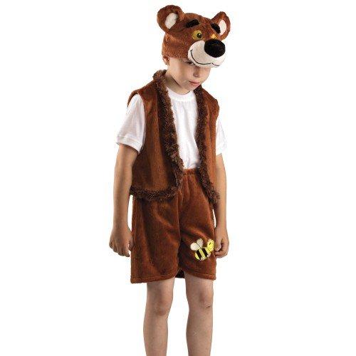 Отличный костюм бурого медведя для мальчика
