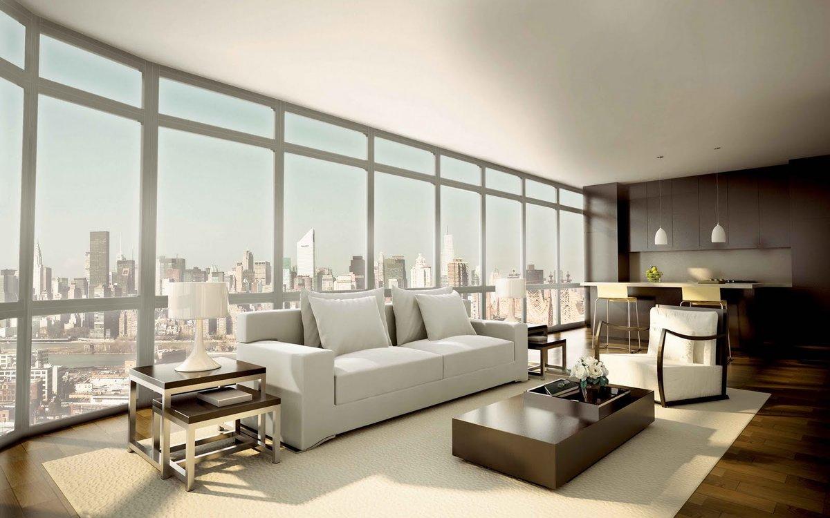Luxurious Living Room HD Desktop Wallpapers
