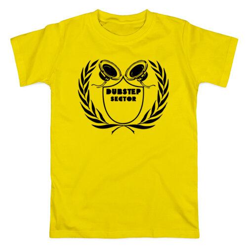 Мужская футболка dubstep sector