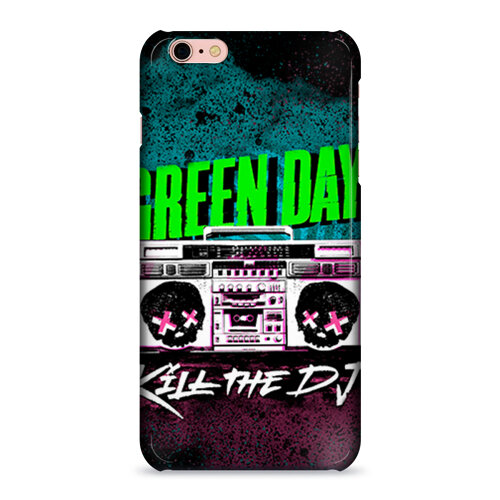 Чехол 3D для Apple iPhone 6/6S plus Green Day