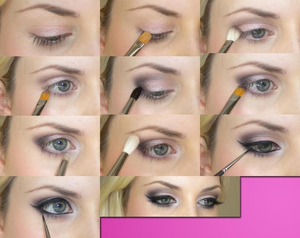 Как быстро сделать макияж фото пошагово