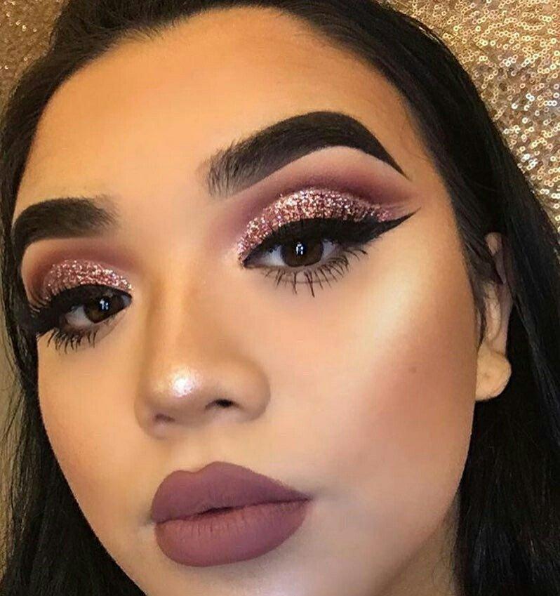 Глиттер макияж 150