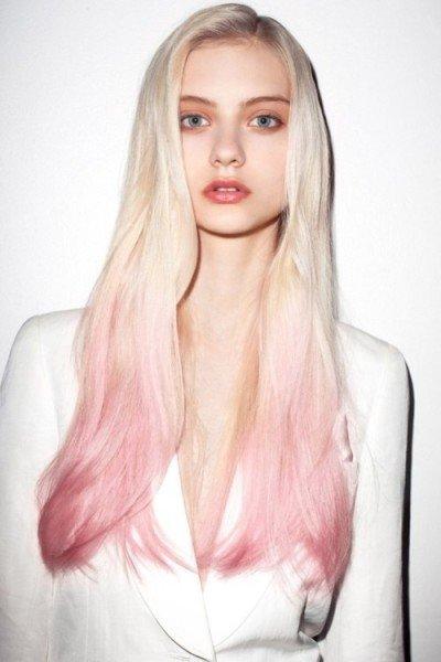 пористая светлый блондин фиолетовый на модели женское