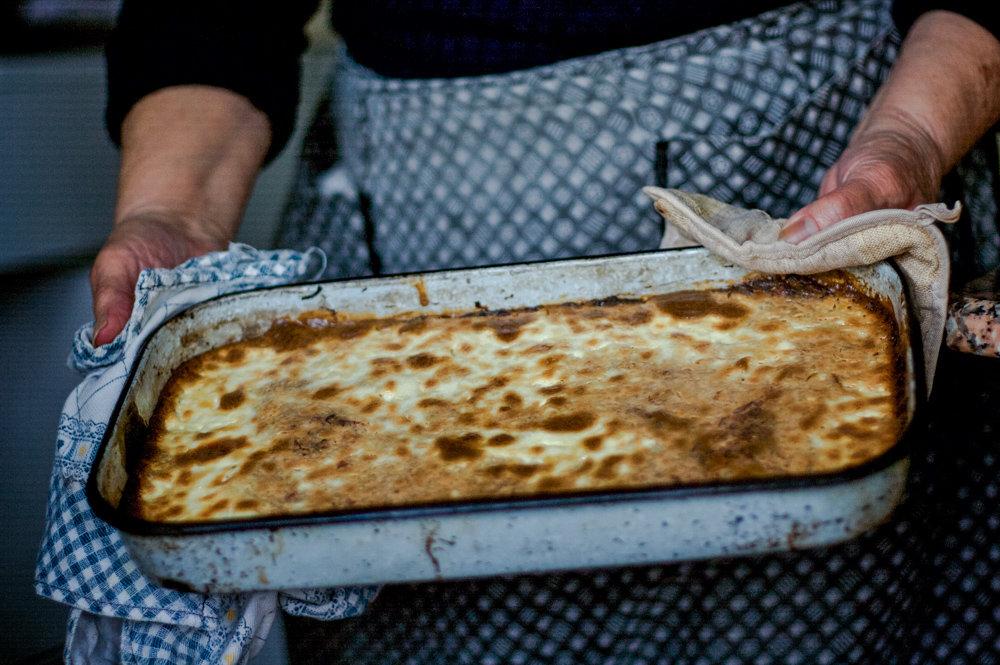 Португалльское блюдо из сушеной трески