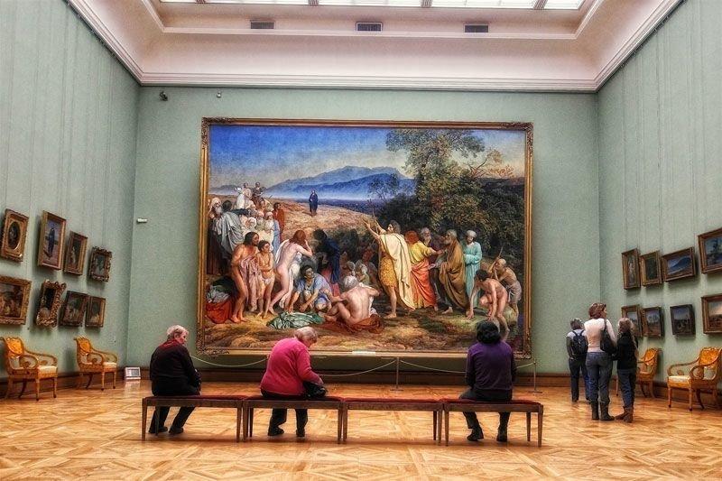 Описание картинки в музее, моя