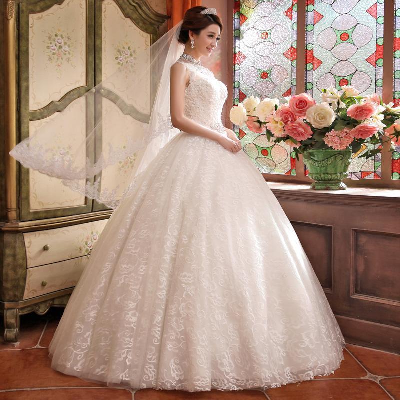 красивые пышные свадебные платья фото