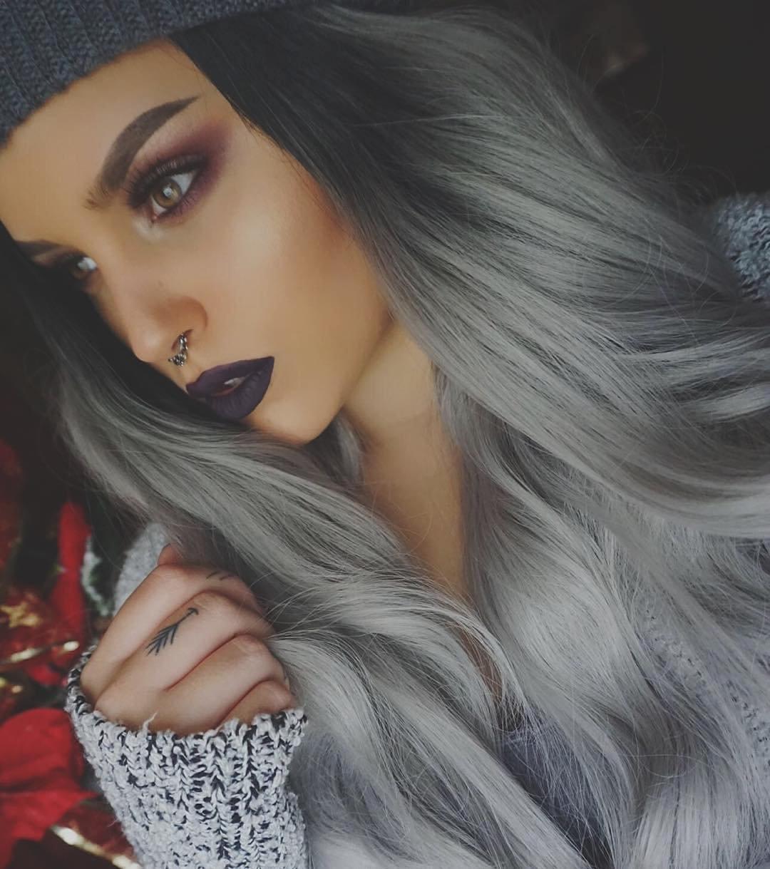 картинки темно серые волосы сложно сказать обратное