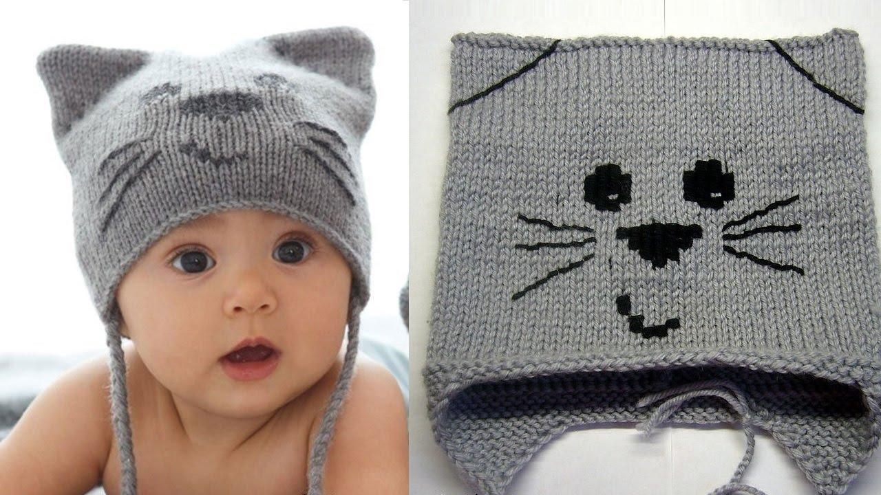 детские вязанные шапочки для детей карточка от пользователя