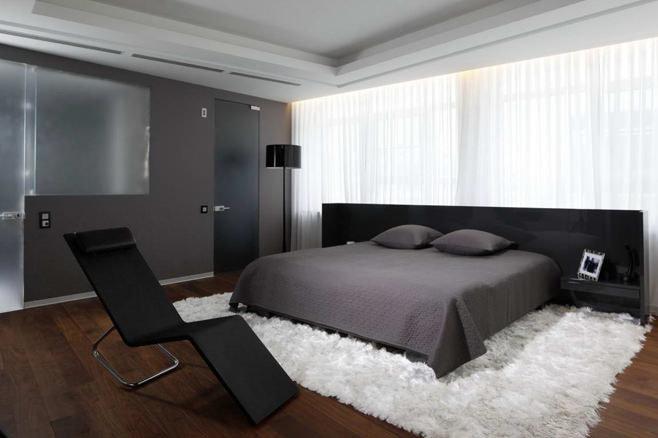 как отделать спальню в квартире фото