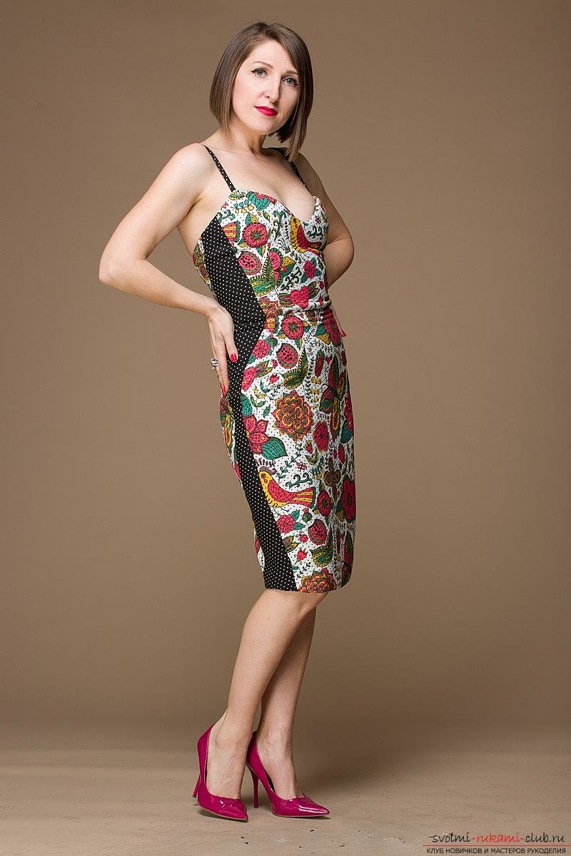 Сшить платье мерлин монро своими руками